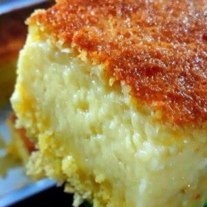 Bolo de milho cremoso - Deixe sua tarde com esse delicioso bolo cremoso que com certeza todos adora e o sabor vai surpreender você é demais